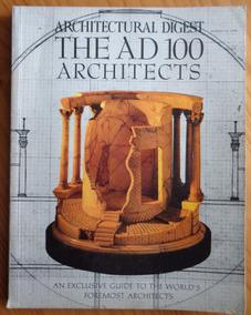 Revista Architectural Digest August 1991 Ad 100 Architects