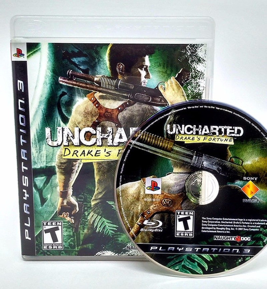 Uncharted 1 Drakes Fortune Ps3 - Mídia Física | Playgorila