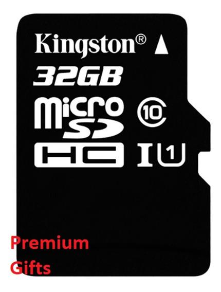 Cartão De Memória Microsd Original Kingston 32 Gb Classe 10