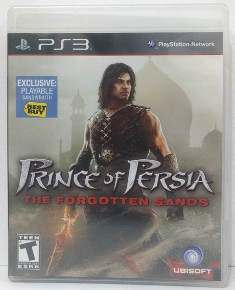 Prince Of Persia Forgotten Sands - Ps3 - Mídia Física