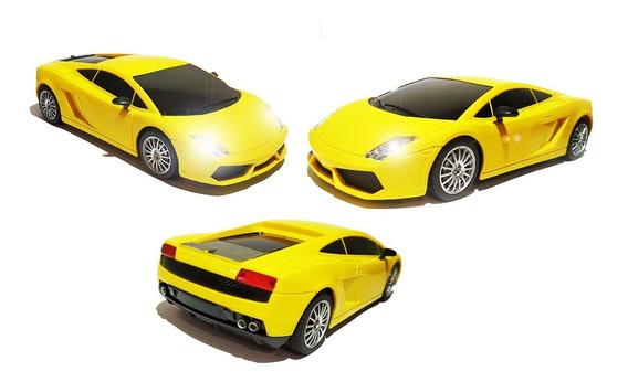 Carrinho De Controle Lamborghini Led Farol Barato Espetáculo