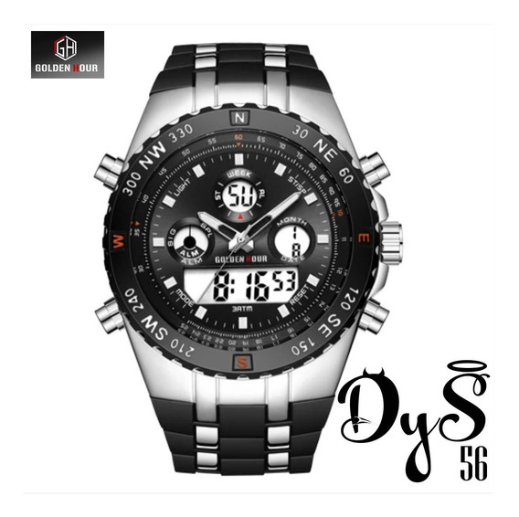 Reloj Golden Hour Militar Model Dys56