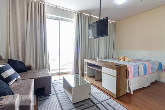 Apartamento No 31º Andar Mobiliado Com 1 Dormitório E 1 Garagem - Id: 892952068 - 252068
