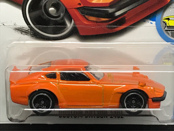 Hot Wheels Custom Datsun 240z - Laranja Fuguz