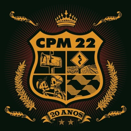 Cd Cpm 22 - 20 Anos Novo Original