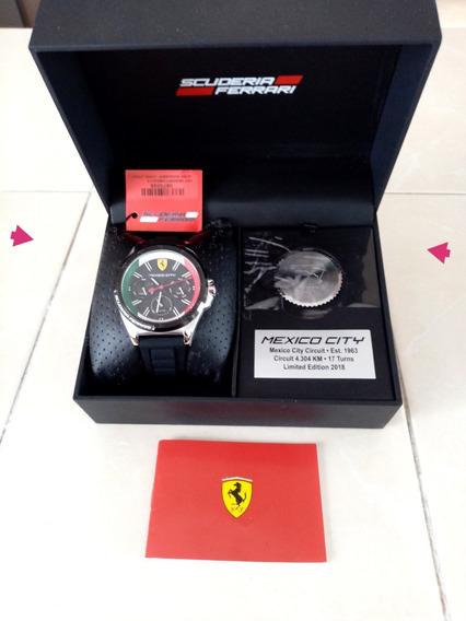 Reloj Ferrari Edición Especial Del Gran Premio De México F1