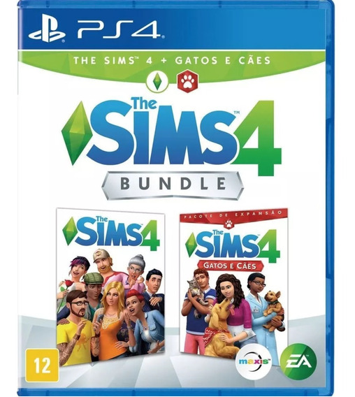 The Sims 4 Bundle + Gatos E Cães Ps4