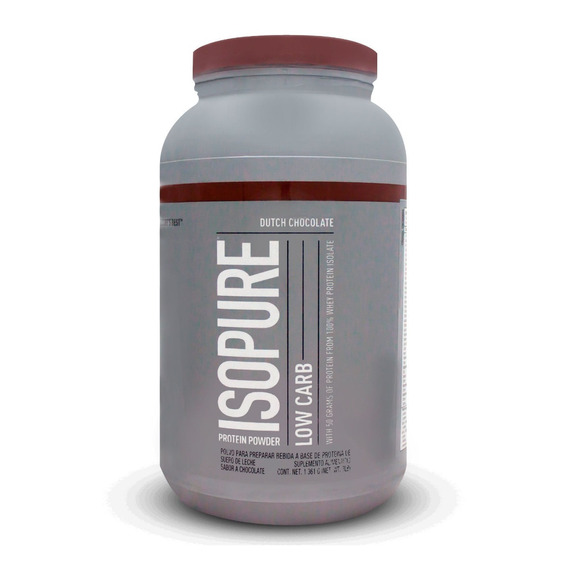Isopure Low Carb Sabor Chocolate 3lbs