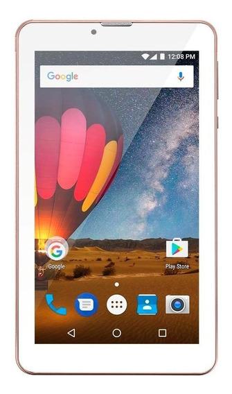 Tablet Multilaser M7 3g Plus Quad Core 1gb Ram Câmera Nb271
