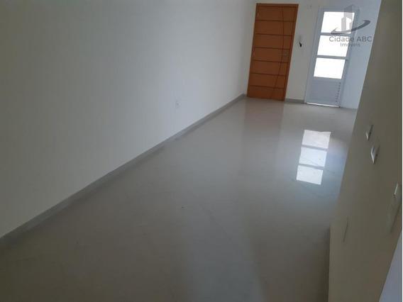 Apartamento Com 2 Dormitórios À Venda, 50 M² Por R$ 265.000 - Campestre - Santo André/sp - Ap1172
