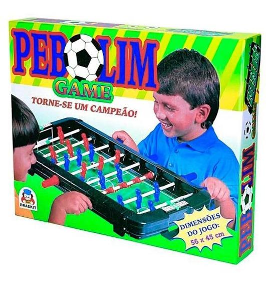 Brinquedo Mesa De Pebolim Totó Game Braskit