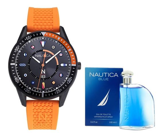 Reloj Nautica Para Caballero Modelo: Napsps901 &nautica Envi