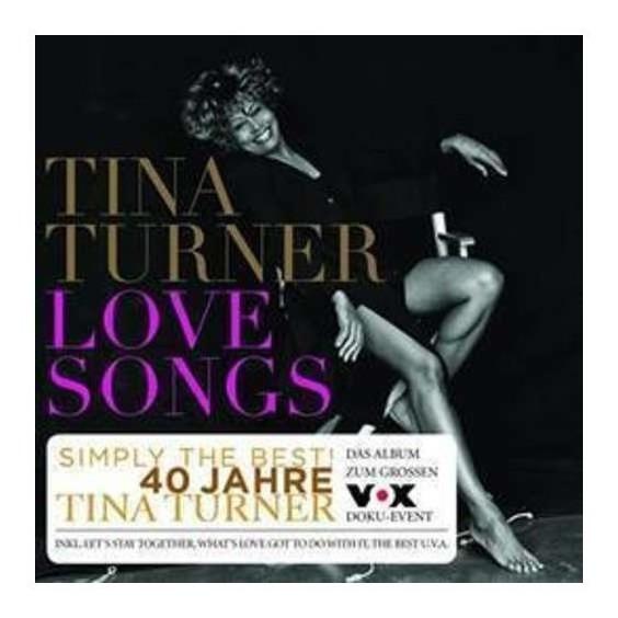 Turner Tina Love Songs Cd Nuevo