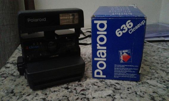 Câmera Fotográfica Polaroid 636 Closeup Com Caixa E Bolsa