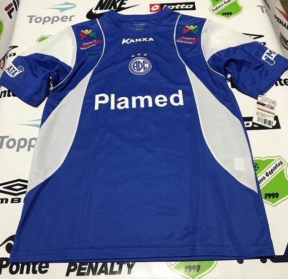 Camisa Oficial Confiança-se Kanxa Azul Tamanho M
