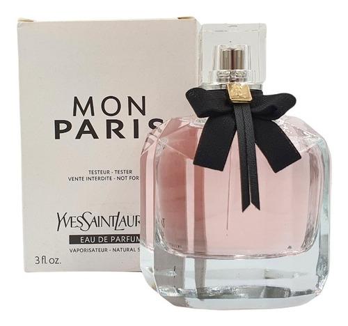 Imagen 1 de 1 de Mon Paris Eau De Parfum 90ml Ysl (tester) / Prestige Parfums