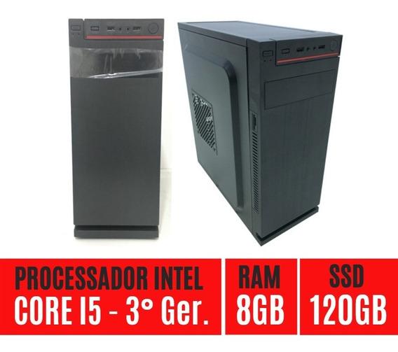 Desktop Core I5 Ssd120 8gb Em Até 12x Sem Juros