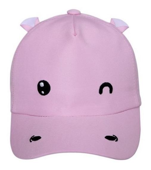 Boné Infantil Hipopótamo