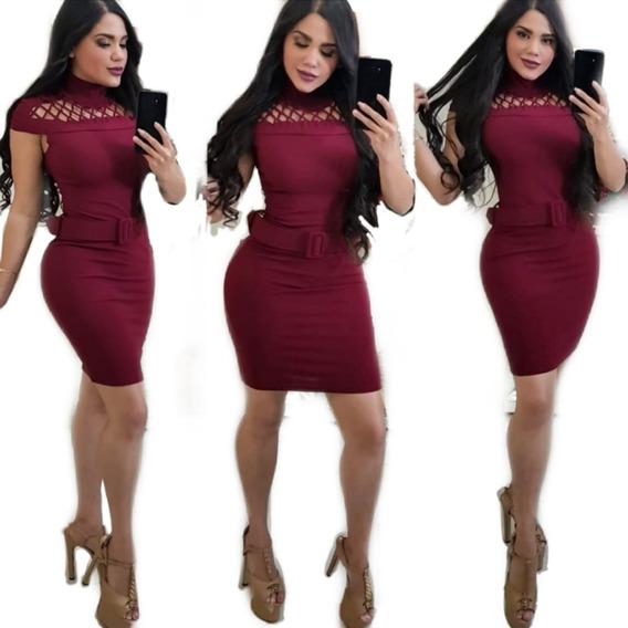 Vestido Vino Lazer Red