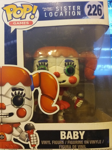 Five Nights At Freddy,baby,funko Pop Original #226