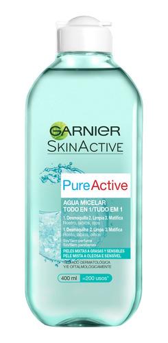 Agua Micelar Garnier Pure Active 400ml
