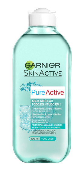 Agua Micelar Garnier Pure Active 400ml