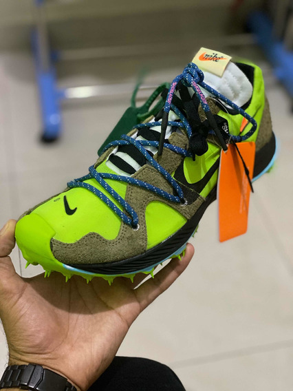 Nike Zoom Terra Kiger 5 Off-white Electric Green 42 Dswt