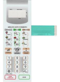 Membrana Teclado Microondas Panasonic Nnst357 Nn St357