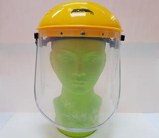 Careta Protector Facial Perilla Ajustable Policarbonato