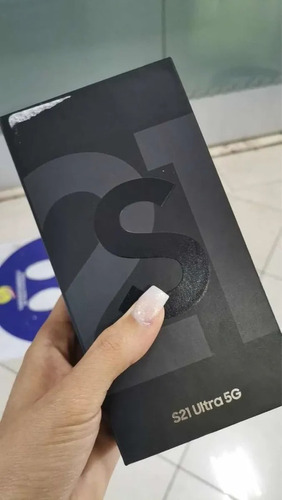 Nuevo Samsung Galaxy S21 Ultra 5g Phantom Black 512gb