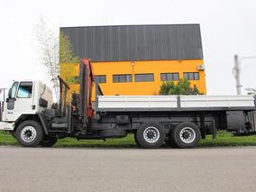 Caminhão Ford Cargo 2628 2009 6x4 Munck Madal 43000