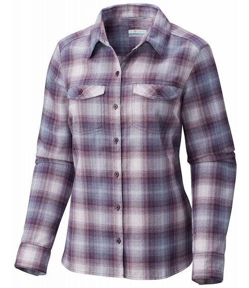 Camisa Dama Columbia Silver Ridge Long Sleeve Flannel