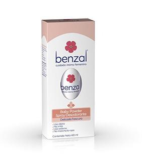 Benzal Spray Desodorante Baby Powder, 60 Ml