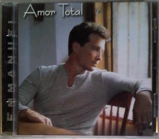Cd - Emmanuel - Amor Total - Original