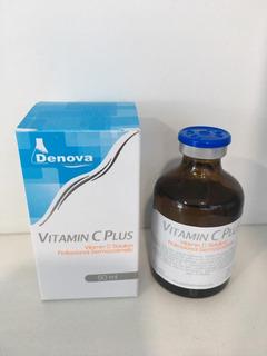 Vitamina C Plus Denova X 50ml Aumento De Gluteos