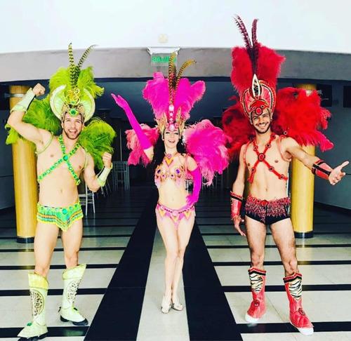 Imagen 1 de 5 de Animación Show Baile Carioca Comparsa Coreografía Quince