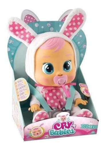 Boneca Cry Babies Coney Chora Com Sons E Lágrimas De Verdade