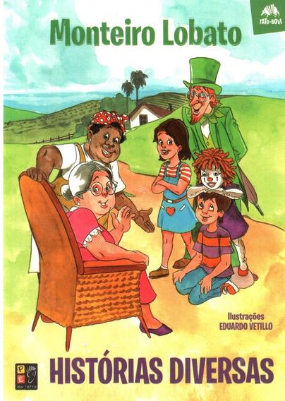 Livro - Histórias Divertidas - Sítio Do Monteiro Lobato