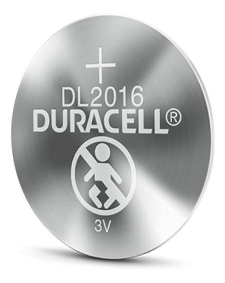 Pilha Dl/cr2016 Duracell 3v Bateria De Lítio Moeda Dl2016