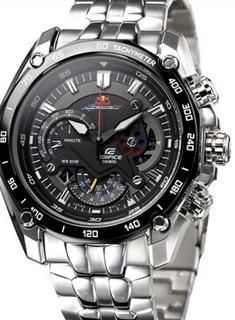 Casio Edifice Red Bull Ef-550d Cronografo 1/20 Nuevo Oferta