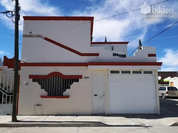 Casa Sola En Venta Fracc. California, Dgo.