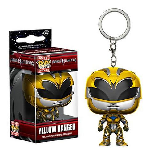Funko Pop Keychain Power Rangers Yellow Ranger