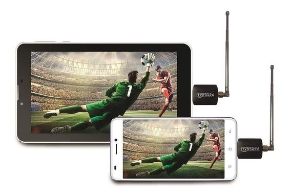 Sintonizador Tv Celular Tablet Android Otg Antena -dt0307m18