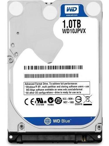Hd Notebook 1tb - Wd Scorpio Blue - 6.0gb/s 2,5 8mb Wd10spz