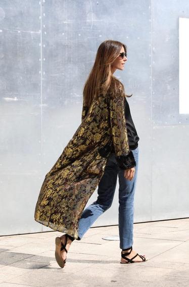 Kimono Dorado Zara