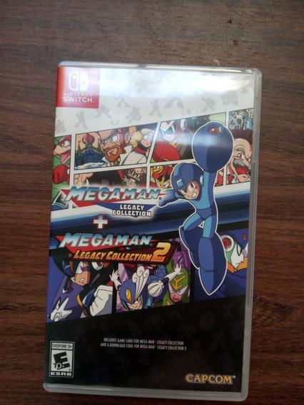 Mega Man Legacy Collection - Mídia Física - Nintendo Switch