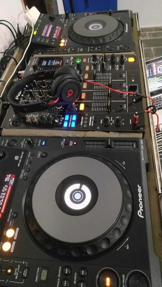 Cdj Pioneer 900 + Djm Pioneer 800