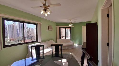 Imagem 1 de 16 de Apartamento Na Praia, 3 Dormitórios, 1 Suíte, 2 Quadras Do Mar,, 2 Vagas, Pitangueiras, Guarujá. - Ap1097