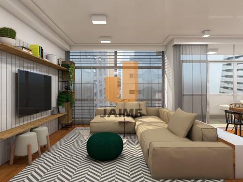 Apartamento Reformado, 2 Dorms, 1 Suíte, 1 Vaga Com 131 M2 - Bi4428