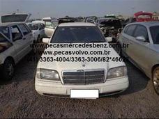 Mercedes C180 C280 Sucata Peças Motor / Cambio / Suspensão
